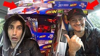 $1,000 NERF Gun Shopping Binge!