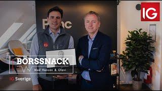 Aktieräven ser goda möjligheter | Börssnack med Hansén & Olavi
