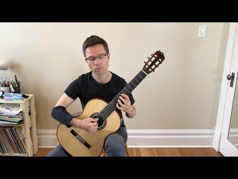 Lesson & Free PDF: El Testament d'Amèlia by Llobet for Classical Guitar