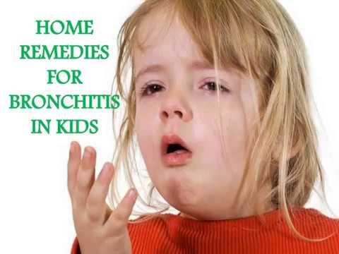 Home remedies for Bronchitis in kids
