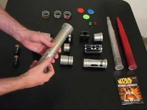 Star Wars Make Your Own Lightsaber