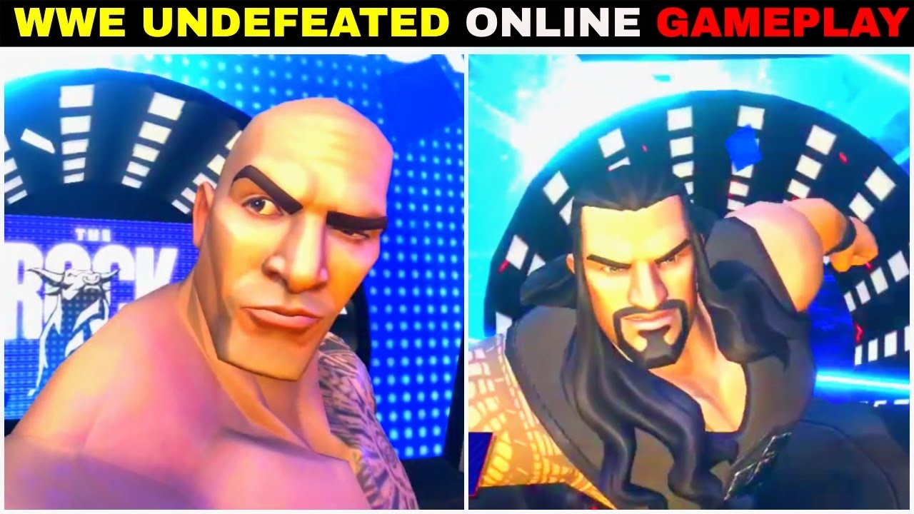 Roman Reigns VS Rock WWE UNDEFEATED - WWE Undefeated FREE Online ANDROID & IOS Game ||