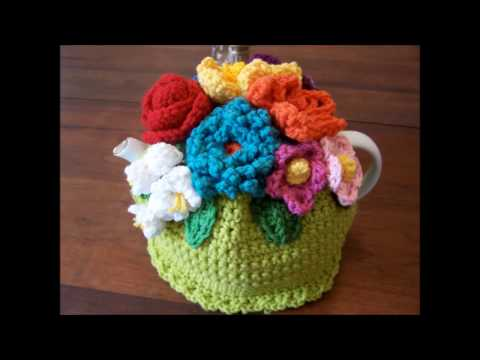 crochet teapot cover