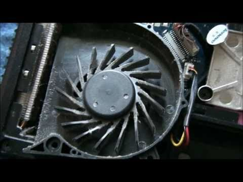 How To Clean Lenovo G550 Laptop Fan
