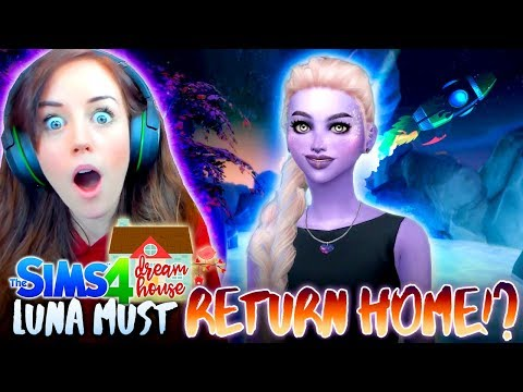 LUNA MUST LEAVE EARTH!?👽🚀(The Sims 4 #72!🏡)