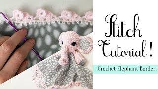 Crochet Elephant Amigurumi Free Pattern with Video | 180x320