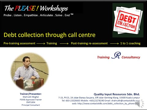 Presentation Debt collection through phone training project Malaysia