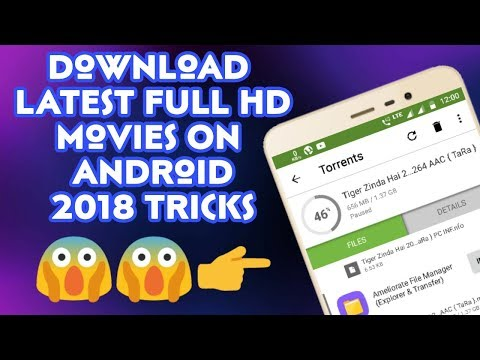 How To Download Latest Movies For Free From Torrent In Android | 2018 Trick