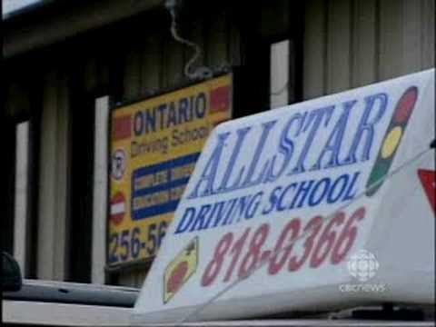 Ontario Driving School on CBC News