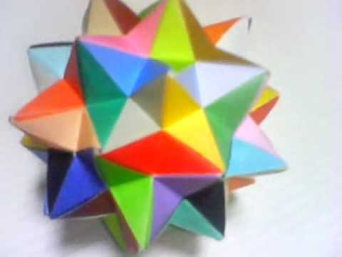 (Truncated Icosahedron) Origami その3