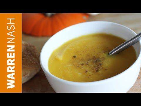 Pumpkin Soup Recipe - Just 4 ingredients - Recipes by Warren Nash
