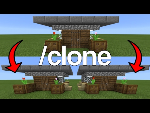How To Use the Clone Command in Minecraft Pocket Edition (1.0+)