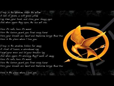 【The Hunger Games - Rue's Lullaby Cover】