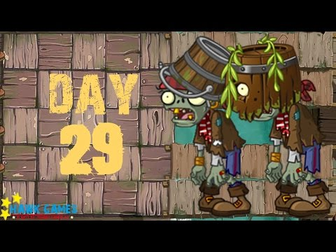 Plants vs Zombies 2 - Pirate Seas - Day 29 [Defeat 20 zombies in 8 seconds] No Premium