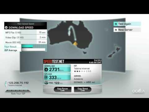 Telstra Wireless Internet Modem