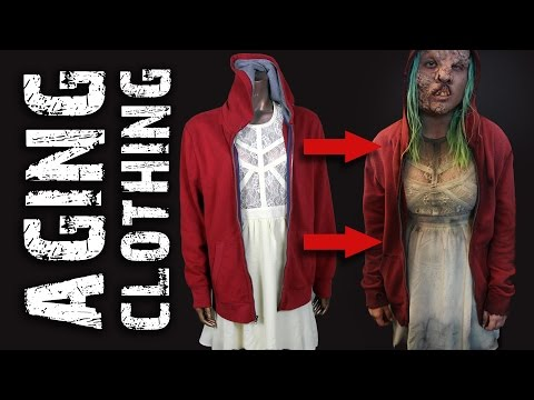Aging Clothing for Zombies/Mutants