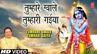 तुम्हारे ग्वाले तुम्हारी गैया TUMHARE GWALE TUMHARI GAIYA, ANUP JALOTA,Krishna Bhajan,Full HD Vikdeo