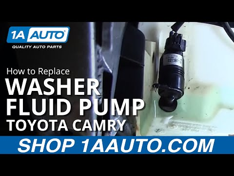 How to Replace Install Washer Pump 98 Toyota Camry