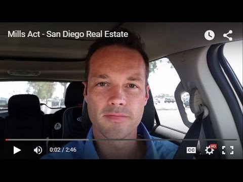 Mills Act - San Diego Real Estate