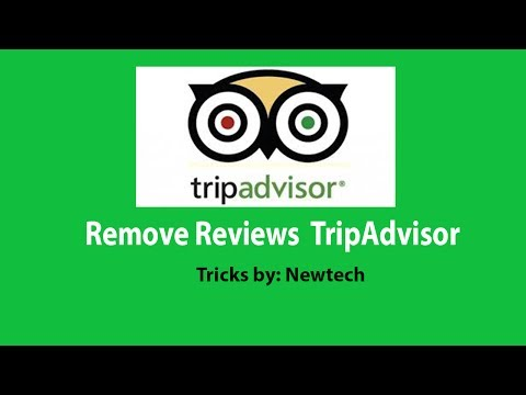 How to remove pending or published reviews from TripAdvisor - TripAdvisor tutorial 2017