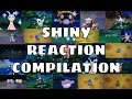 All Live Shiny Reactions Compilation! [X/Y & ORAS]
