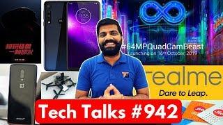 Tech Talks #942 - Redmi Note 8 Pro India Launch, Realme TV, Jio Fake 25GB, 7T Pro McLaren, Drone