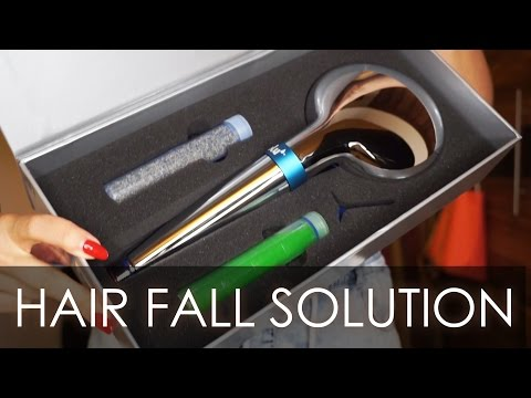 Hair Fall Solution - A filtered shower head called Blu Ionic Power Filter