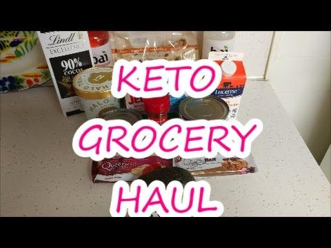 KETO GROCERY HAUL   KETOGENIC DIET