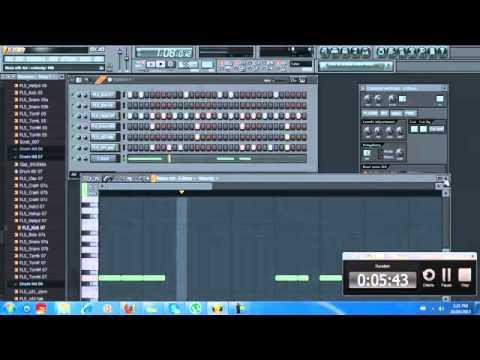 Studio; HIGH TECH MUSIC  Simple Reggae Beat On FL Studio