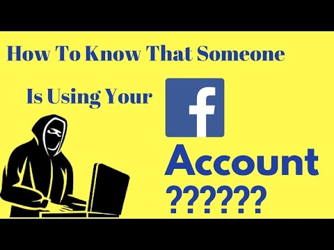 How To Know That Someone Is Using Your Facebook Account If Using Then What To Do ???