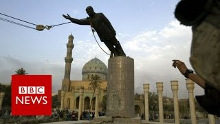 """I toppled Saddam's statue – now I want him back"" BBC News"