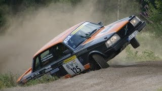 Extreme Volvo Rallying