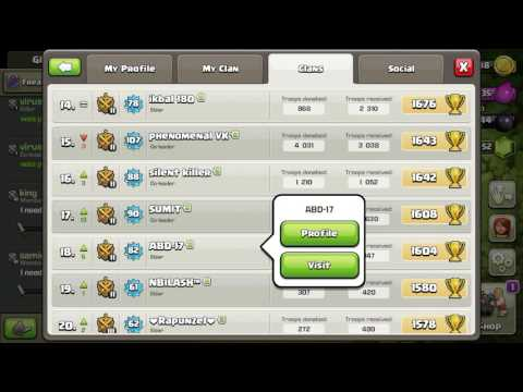 Clash of clan unlimited army hack