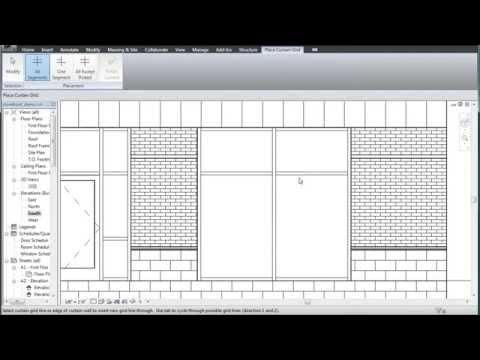 Revit storefront doors: 2 minute crash course