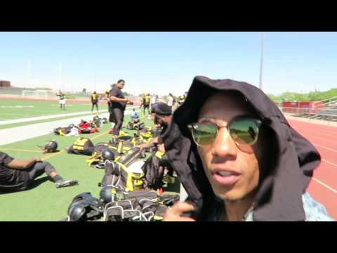 Vlogging with the WEST TEXAS LIONS SEMI- PRO FOOTBALL TEAM | VLOG #28 | Sony a6000