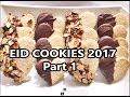 EID COOKIES  2017 - 3 INGREDIENTS ONLY PART 1 - SHORTBREAD COOKIES - RAMADAN - Dunyas Kitchen