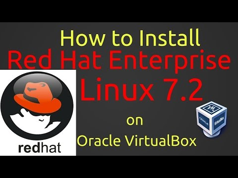How to Install Red Hat Enterprise Linux 7.2 (RHEL 7.2) + VBox Guest Additions on VirtualBox [CC][HD]