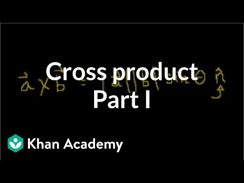 Cross product 1 | Magnetic forces, magnetic fields, and Faraday's law | Physics | Khan Academy