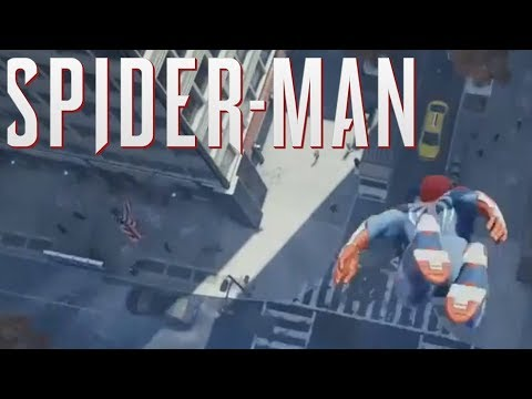 All New Spider Man PS4 Gameplay!