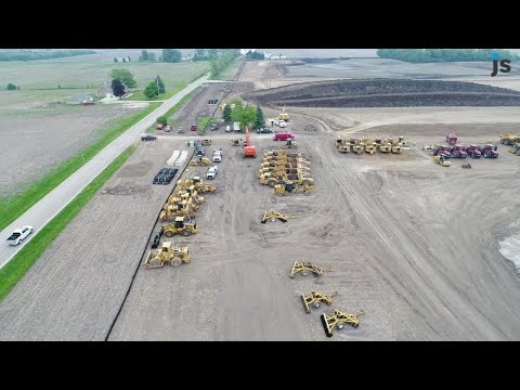 Video: Work continues on the Foxconn site