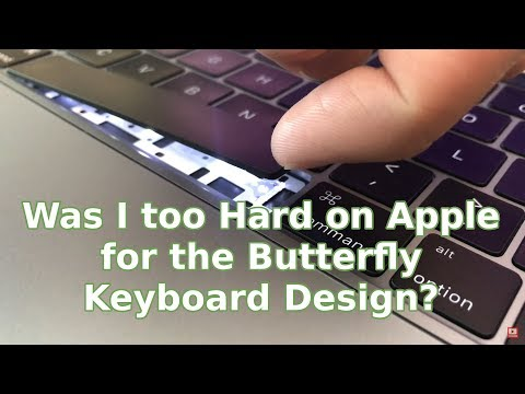 Was I too Hard on Apple for their Butterfly Keyboard Design?
