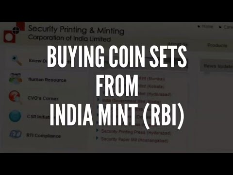 Buying Coin Sets From India Mint (RBI)