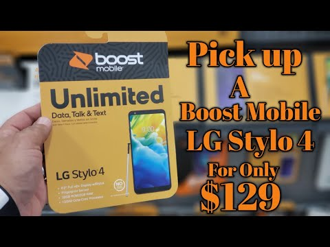 Get your Boost Mobile LG Stylo 4 right now for $129 @ your local Walmart.