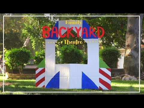 Backyard Theatre: Toy Story Stage DIY | Disney Family