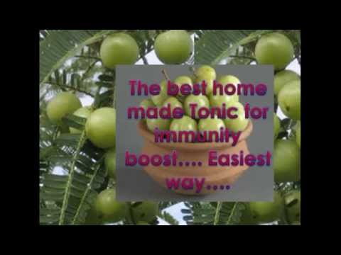 How to prepare Indian Gooseberry Tonic at home !!!