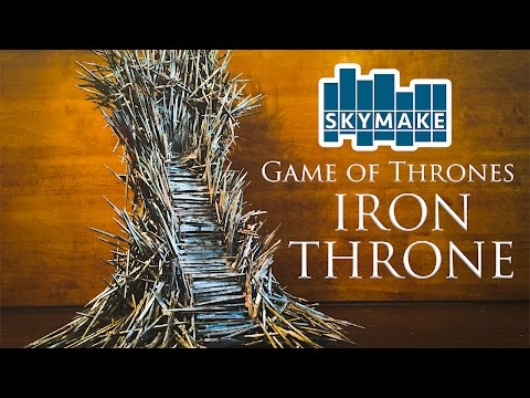 The Real Iron Throne (Game of Thrones) [Mini Famous Chairs]