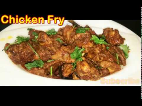 Chicken Fry recipe in tamil|Tasty chicken Varuval recipe in tamil|(சிக்கன் வறுவல்)