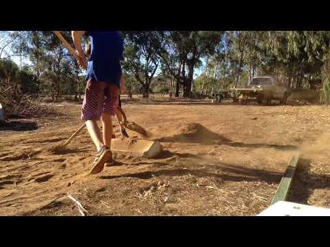 Building a pump track    a jump # part one