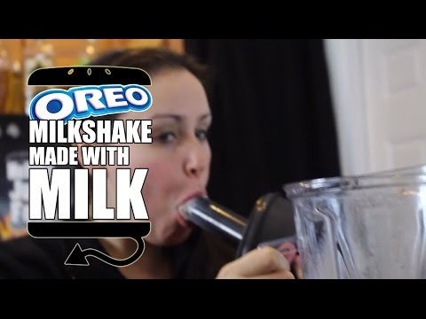 HOW TO MAKE A PERFECT OREO Milkshake
