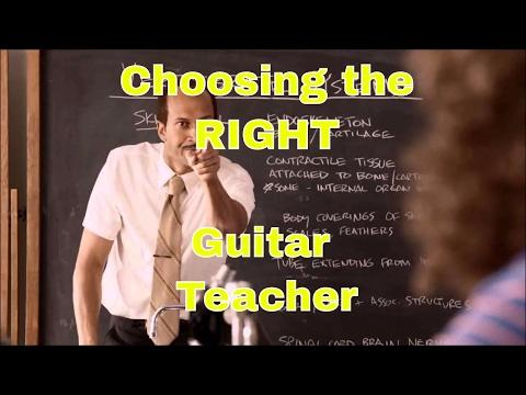 Choosing the RIGHT Guitar Teacher - Steve Stine Guitar Tips